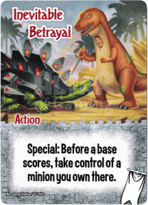 Inevitable Betrayal - Smash Up Card - Ignobles | Altar of Gaming
