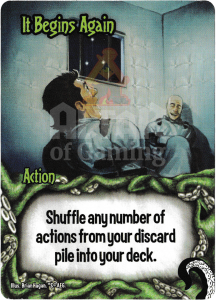It Begins Again - Smash Up Card - Minions of Cthulhu | Altar of Gaming
