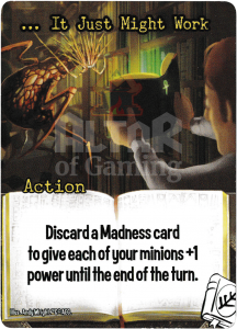 … It Just Might Work - Smash Up Card - Miskatonic University | Altar of Gaming