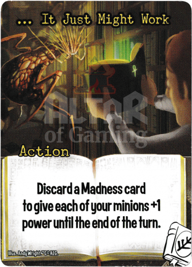 … It Just Might Work - Miskatonic University - Smash Up Card | Altar of Gaming
