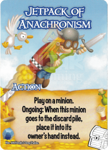 Jetpack of Anachronism - Smash Up Card - Treasures | Altar of Gaming
