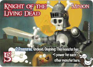 Knight of the Living Dead - Smash Up Card - Monsters | Altar of Gaming