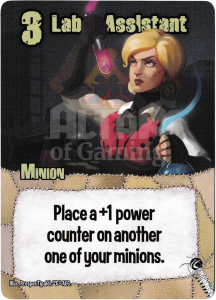 Lab Assistant - Smash Up Card - Mad Scientists   Altar of Gaming