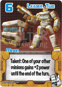 Leader Two - Smash Up Card - Changerbots | Altar of Gaming