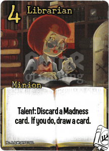 Librarian - Smash Up Card - Miskatonic University | Altar of Gaming