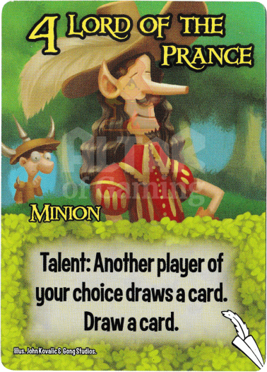 Lord Of The Prance - Elves - Smash Up Card | Altar of Gaming