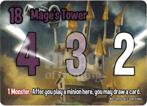 Mage's Tower - Smash Up Card - Mages | Altar of Gaming