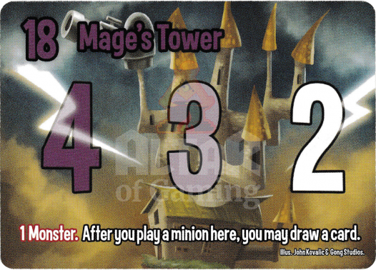 Mage's Tower - Mages - Smash Up Card   Altar of Gaming