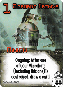 Microbot Archive - Smash Up Card - Robots | Altar of Gaming