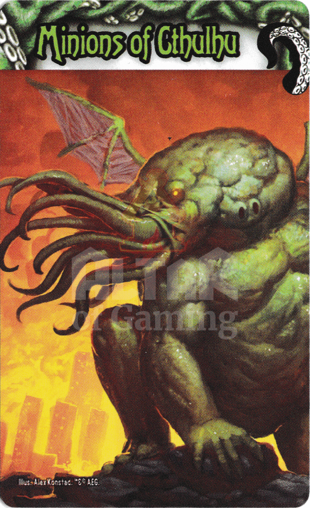 Minions of Cthulhu - Smash Up Faction - The Obligatory Cthulhu Set | Altar of Gaming