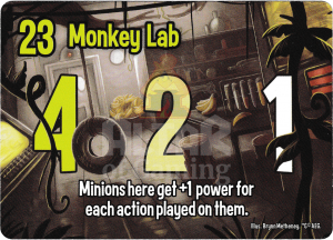 Monkey Lab - Smash Up Card - Cyborg Apes | Altar of Gaming