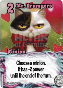 Mr. Grumpers - Smash Up Card - Kitty Cats | Altar of Gaming
