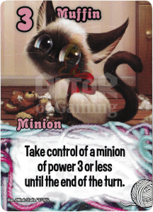 Muffin - Smash Up Card - Kitty Cats | Altar of Gaming