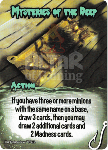 Mysteries of the Deep - Smash Up Card - Innsmouth | Altar of Gaming