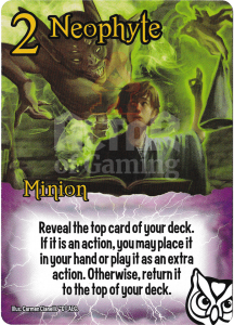Neophyte - Smash Up Card - Wizards | Altar of Gaming