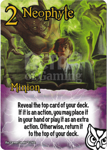 Neophyte - Wizards - Smash Up Card | Altar of Gaming