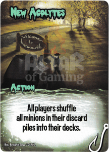 New Acolytes - Smash Up Card - Innsmouth | Altar of Gaming