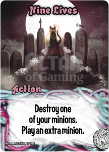 Nine Lives - Smash Up Card - Kitty Cats | Altar of Gaming