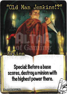 """Old Man Jenkins!?"" - Smash Up Card - Miskatonic University 