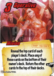 Operative - Smash Up Card - Super Spies | Altar of Gaming