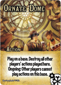 Ornate Dome - Smash Up Card - Steampunks | Altar of Gaming