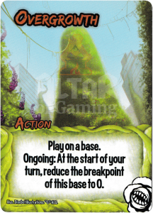 Overgrowth - Smash Up Card - Killer Plants | Altar of Gaming