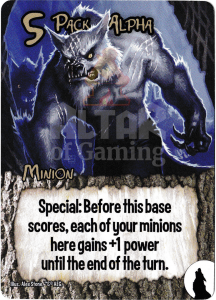 Pack Alpha - Smash Up Card - Werewolves | Altar of Gaming