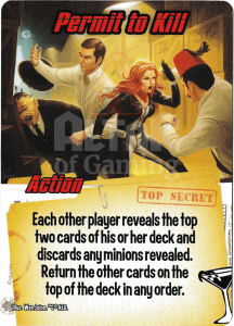 Permit to Kill - Smash Up Card - Super Spies | Altar of Gaming