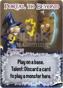 Portal to Beyond - Smash Up Card - Mages | Altar of Gaming