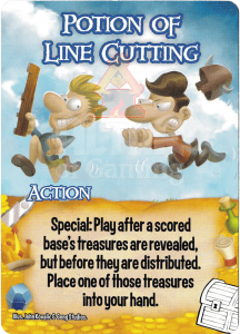 Potion of Line Cutting - Smash Up Card - Treasures | Altar of Gaming