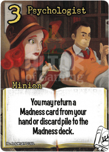 Psychologist - Smash Up Card - Miskatonic University | Altar of Gaming