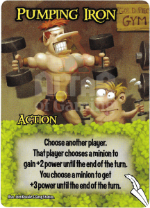 Pumping Iron - Smash Up Card - Elves | Altar of Gaming