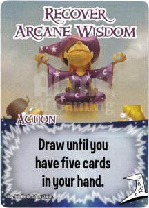 Recover Arcane Wisdom - Smash Up Card - Mages | Altar of Gaming