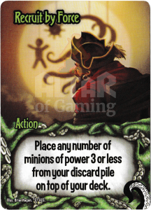 Recruit by Force - Smash Up Card - Minions of Cthulhu | Altar of Gaming