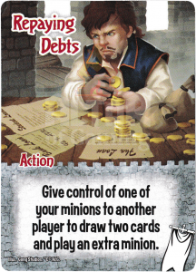 Repaying Debts - Smash Up Card - Ignobles | Altar of Gaming
