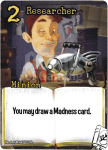 Researcher - Smash Up Card - Miskatonic University | Altar of Gaming