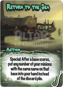 Return to the Sea - Smash Up Card - Innsmouth | Altar of Gaming
