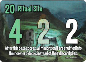 Ritual Site - Smash Up Card - Innsmouth | Altar of Gaming