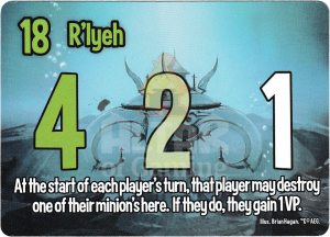 R'lyeh - Smash Up Card - Minions of Cthulhu | Altar of Gaming