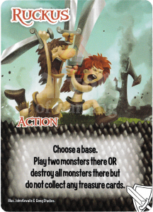 Ruckus - Smash Up Card - Warriors | Altar of Gaming