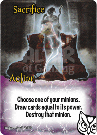 Sacrifice - Wizards - Smash Up Card | Altar of Gaming