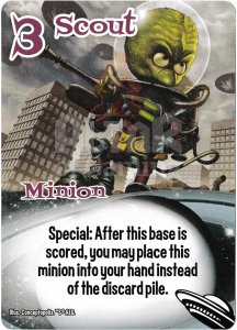 Scout - Smash Up Card - Aliens | Altar of Gaming