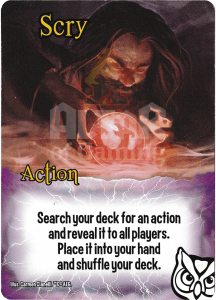 Scry - Smash Up Card - Wizards | Altar of Gaming
