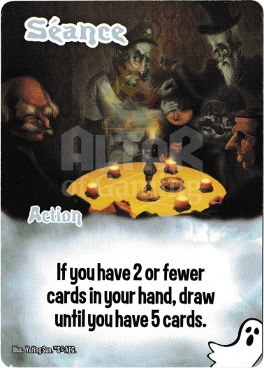 Seance - Ghosts - Smash Up Card   Altar of Gaming