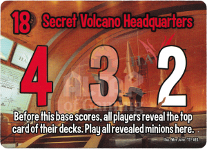 Secret Volcano Headquarters - Smash Up Card - Super Spies | Altar of Gaming