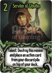 Servitor of Cthulhu - Smash Up Card - Minions of Cthulhu | Altar of Gaming