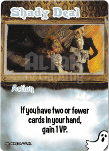 Shady Deal - Smash Up Card - Ghosts | Altar of Gaming