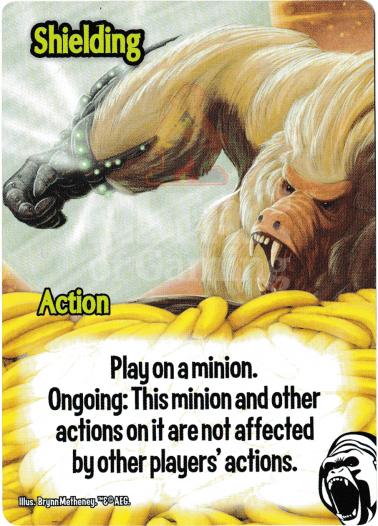 Shielding - Cyborg Apes - Smash Up Card | Altar of Gaming