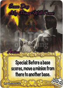 Some Day My Prince Will Come - Smash Up Card - Princesses | Altar of Gaming