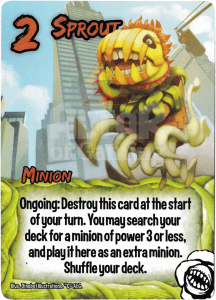 Sprout - Smash Up Card - Killer Plants | Altar of Gaming
